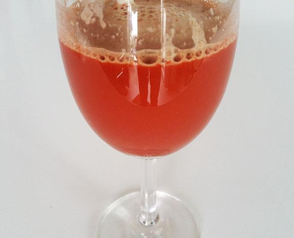 Dung dịch Tinh bột nghệ có màu đỏ bầm
