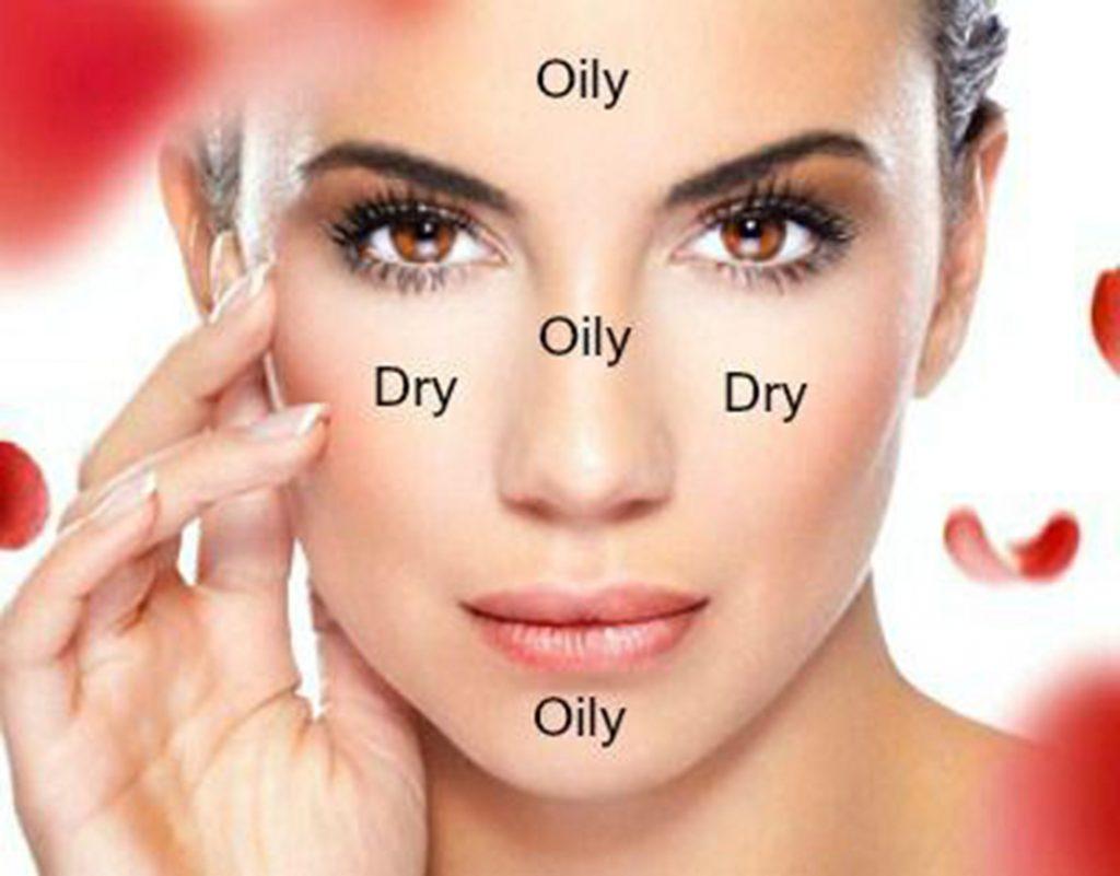 Da hỗn hợp là loại da tồn tại cả 2 loại: da dầu và da khô