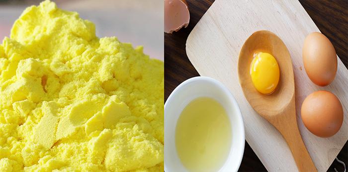 Mặt nạ tinh bột nghệ mật ong với trứng gà vừa có khả năng trị mụn, lại có khả năng dưỡng ẩm cho làn da khô