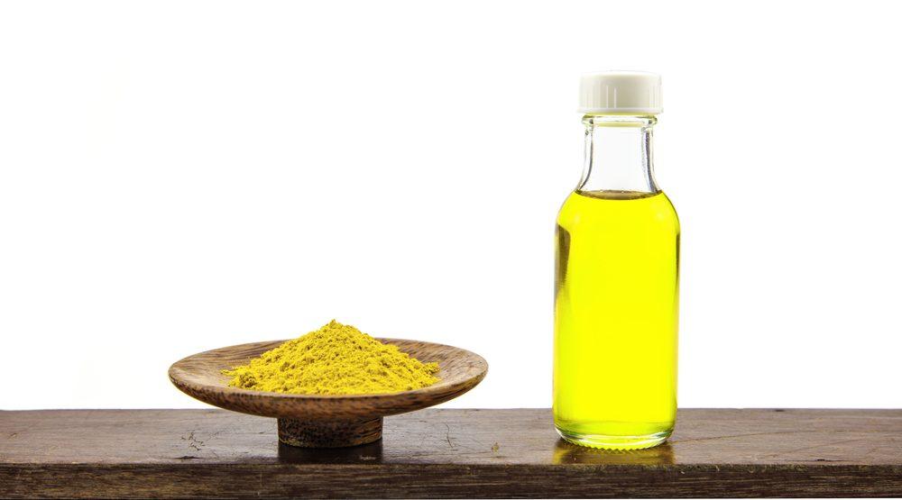 Tinh bột nghệ dầu oliu