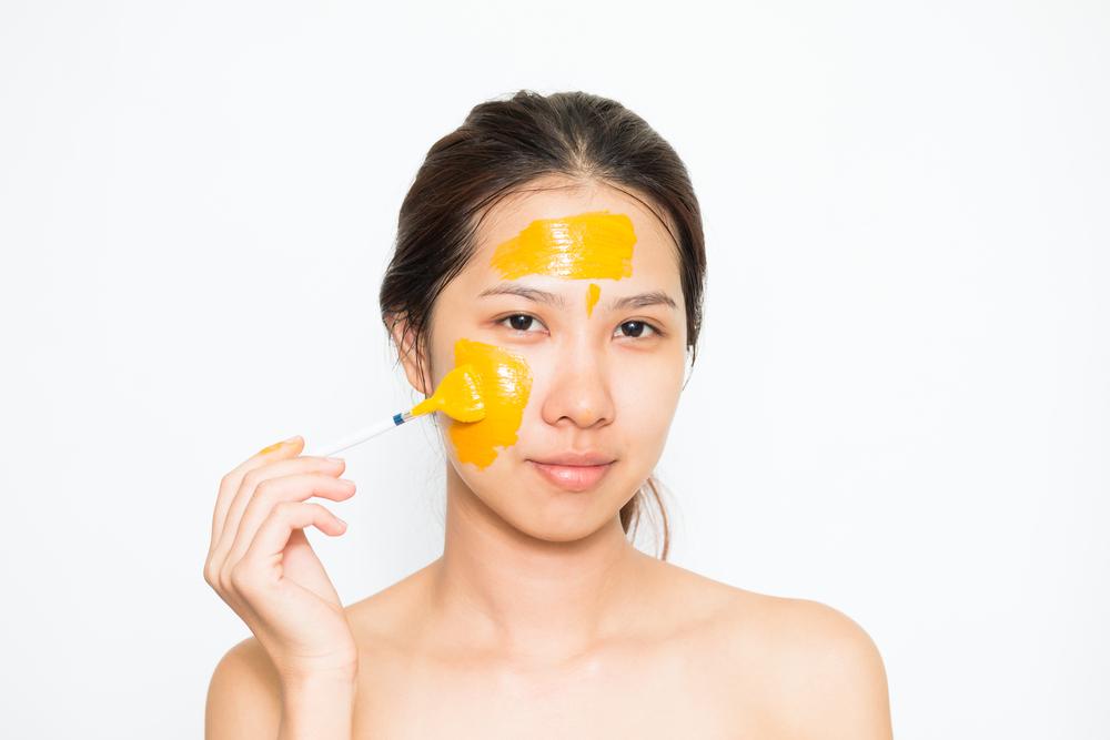 Mặt nạ tinh bột nghệ sữa tươi dưỡng ẩm, chống lão hóa da, trị thâm mụn