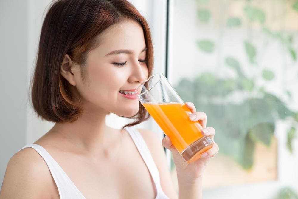 Uống tinh bột nghệ hằng ngày giúp phụ nữa sau sinh trị nám tận gốc từ bên trong